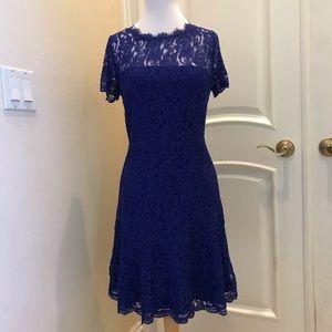 NWT Diane Von Furstenberg  all over lace dress
